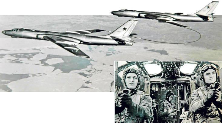 大纪元,人民,飞机。 为纪念第一架苏联远程喷气式轰炸机Tu-16的创造者