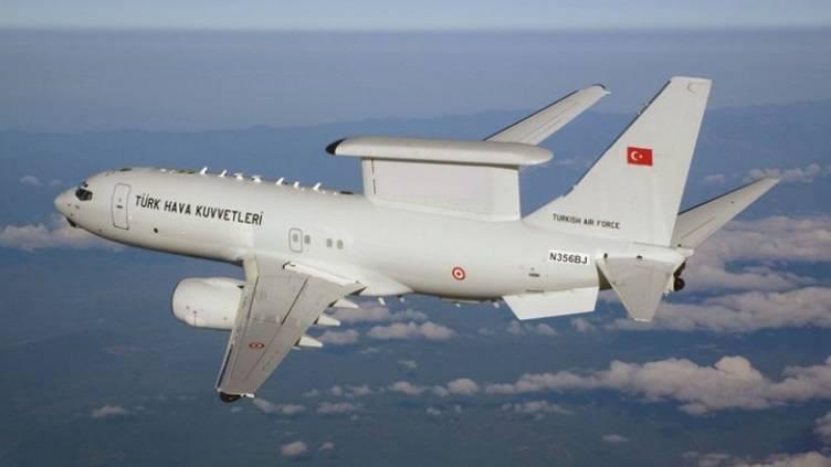 土耳其空军收到了第一架DRLO飞机波音737和平鹰