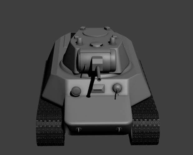 «Мототанк» МТ-25: проект бронемашины на колесно-гусеничном ходу