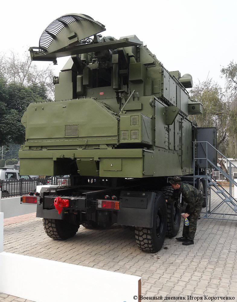 """Büyük megapolistlerin ve sanayi merkezlerinin hava savunması için modüler hava savunma sistemi """"Tor-М2КМ"""""""