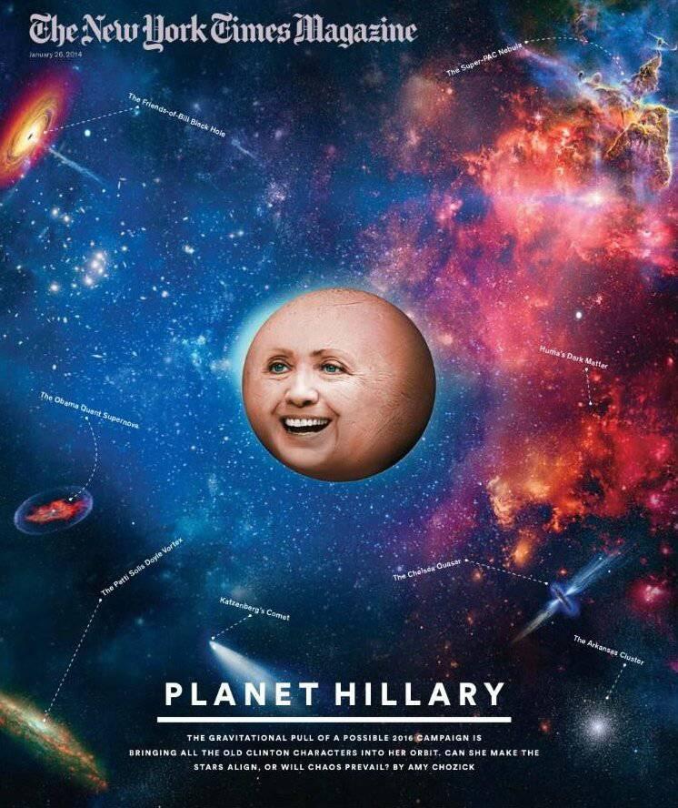 Intriga de Hillary