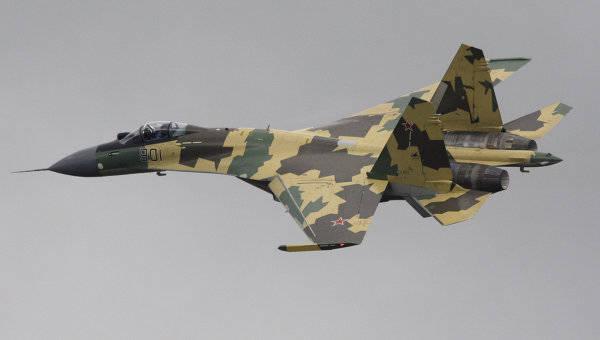 Двенадцать новейших истребителей Су-35С поступили на вооружение ВВС РФ