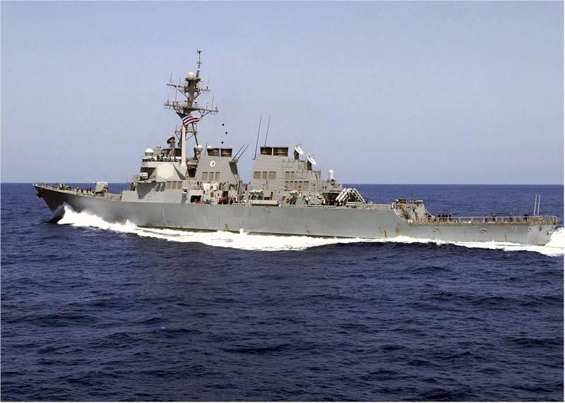 미 해군은 EuroMD 창설의 일환으로 스페인에 도착했다.