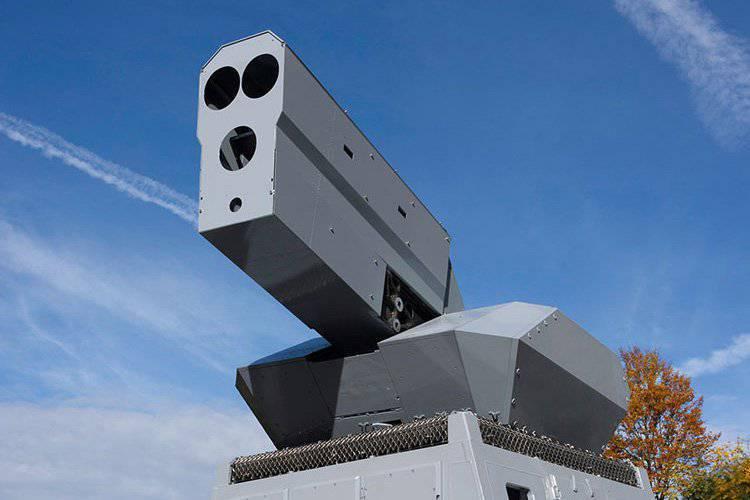 Rheinmetall, Yüksek Güçlü Lazerlerini Gösteriyor