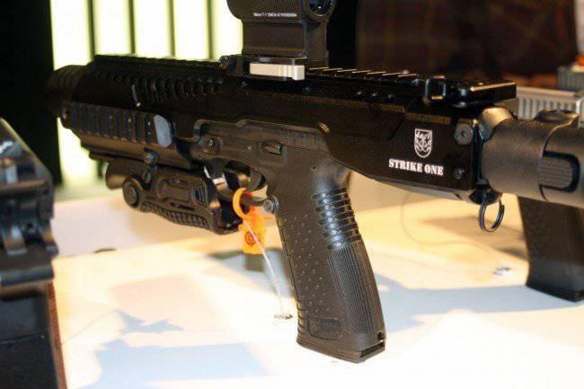 Pistolet Stryj est apparu sur l'exposition d'armes dans une apparence inhabituelle
