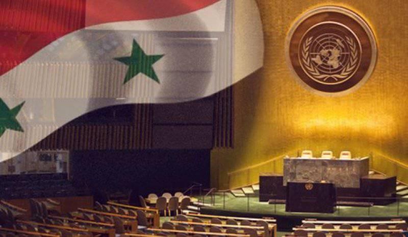 韦斯特已经就叙利亚准备了另一份决议草案