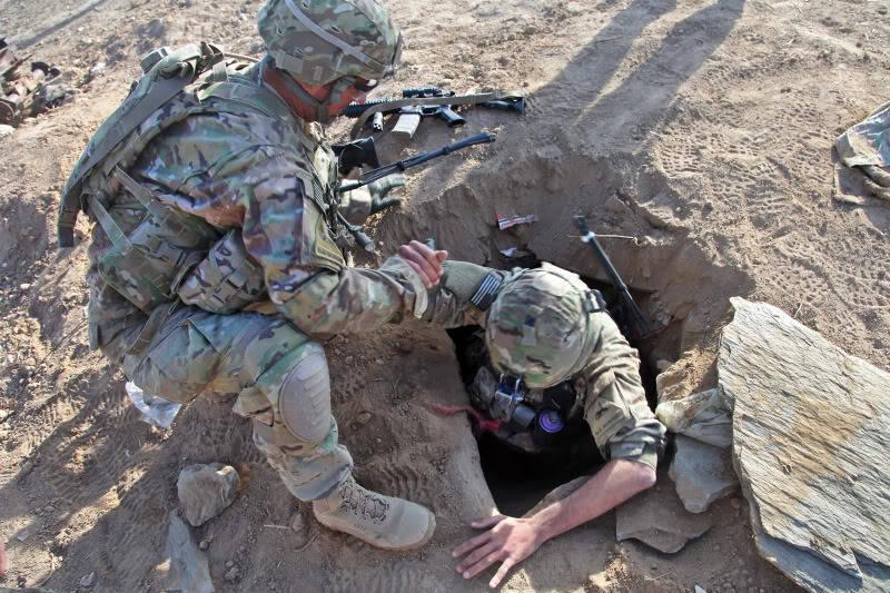 """अमेरिकी सेना का विभाग """"भूमिगत युद्धों"""" का अध्ययन कर रहा है"""