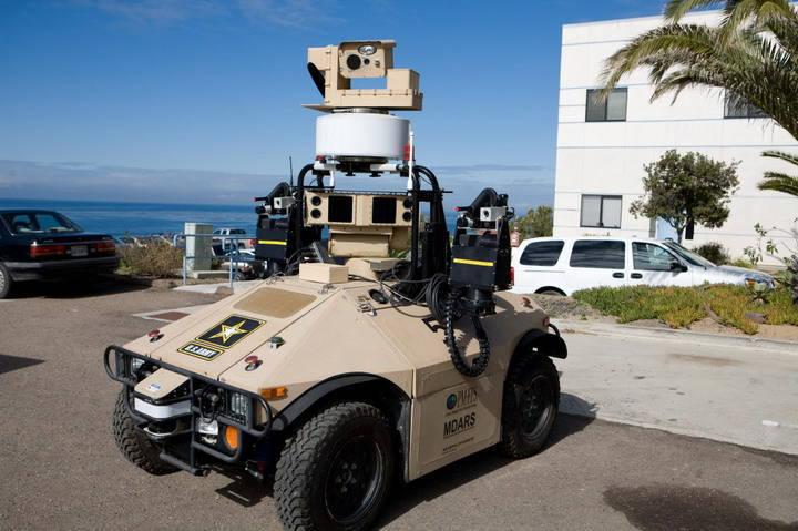 미국 해병대, Robocop의 초기 버전 테스트