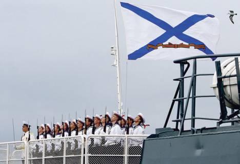 地中海で組み立てられた作戦部隊は、衝撃力の構成において海軍で最も強いです。