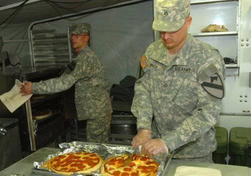 Développement militaire américain: pizza avec une durée de conservation de trois ans