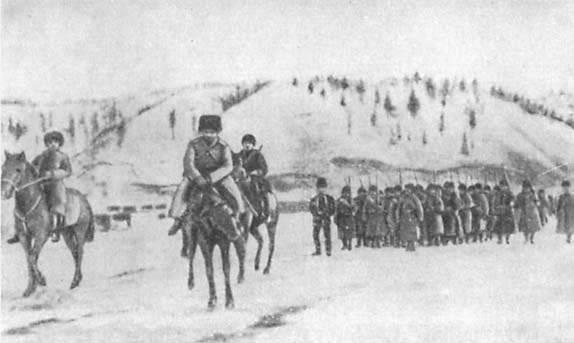 俄日战争的开始。 3的一部分。 俄罗斯军队在二十世纪之交。 战争剧场