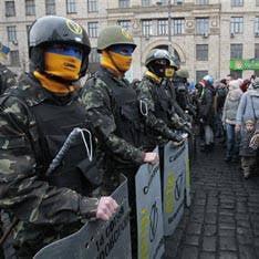 Kiewer Rathaus dauerte einen Tag