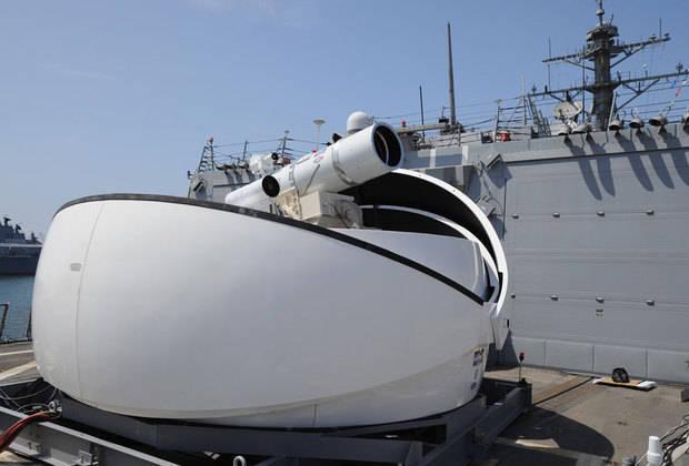 Stati Uniti installati per la prima volta su una pistola laser da guerra