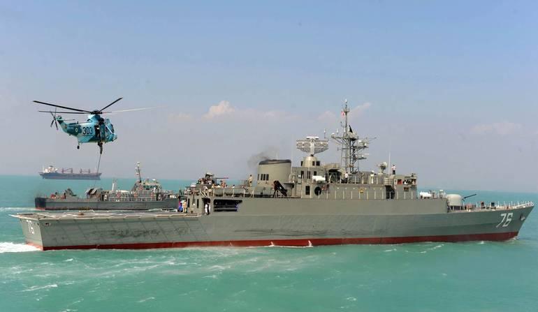 """Irán construye tres nuevos destructores """"Jamaran"""""""