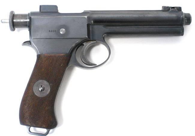 手枪Rot-Steyr年度1907样品(Roth-Steyr M1907)