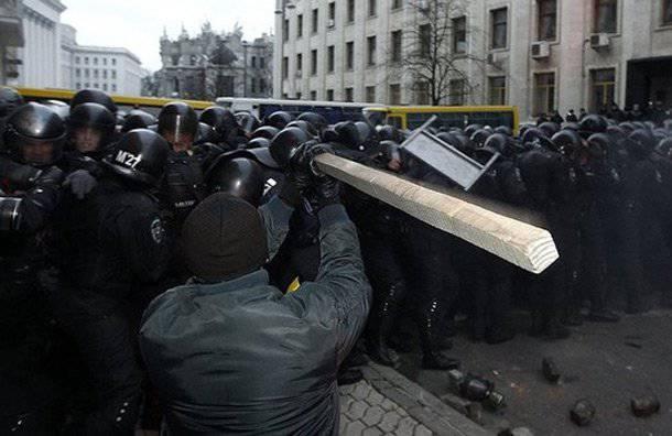 Civil war in Ukraine: on the trigger