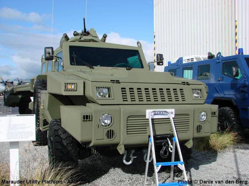 Patrol option joins Paramount family of wheeled combat vehicles