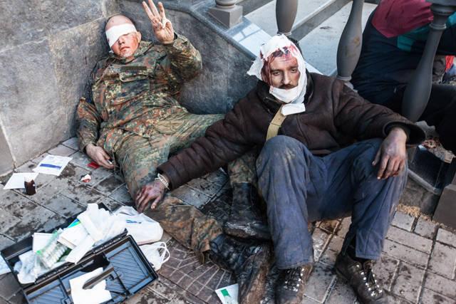 Février 20 - le jour de deuil en Ukraine