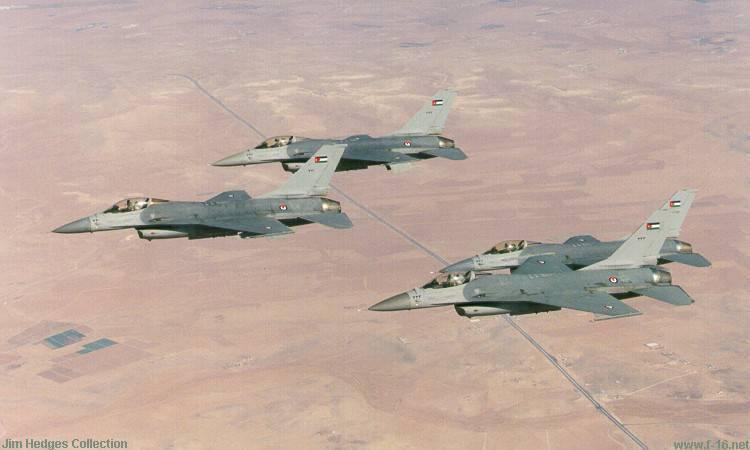 巴基斯坦购买了13 Jordanian F-16
