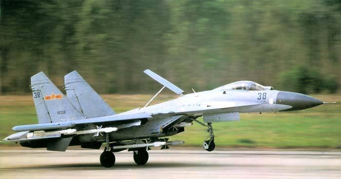 China erhöht die Produktion von Su-27-Familienkämpfern