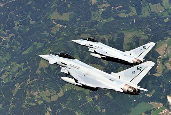 """सऊदी अरब ने """"2000 Tranche"""" संशोधन के EF-3 """"टायफून"""" सेनानियों के लिए """"बीएई सिस्टम्स"""" वितरण शर्तों के साथ सहमति व्यक्त की है"""