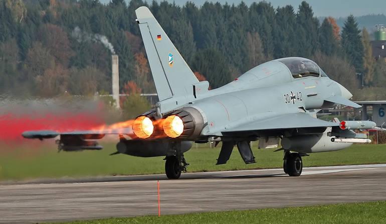 "Alemanha recusou a última parcela de ""Typhoon"""