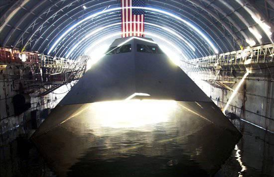Sea Shadow - nave invisibile per rottami