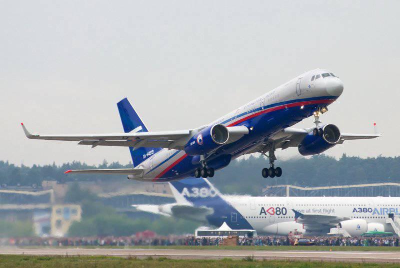 """रूसी वायु सेना को एक और Tu-XNUMHON """"ओपन स्काई"""" विमान प्राप्त होगा"""