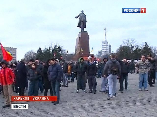 ハリコフ:レーニンの記念碑のための戦いを見越して