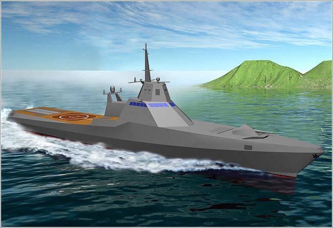 La construction d'un nouveau navire de patrouille commence