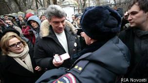 Nemtsov's fiery suffering
