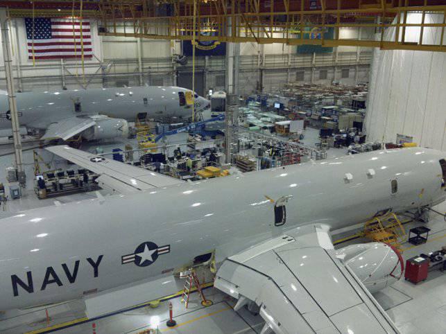 """Nos Estados Unidos começou a produção em massa em larga escala de aeronaves """"Poseidon"""""""