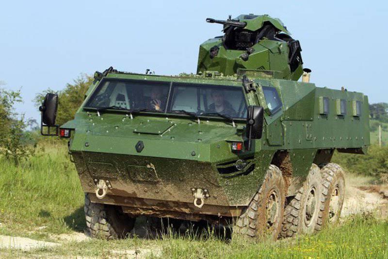 Jetzt auf der Liste: Renault Trucks Defence bewirbt seinen gepanzerten Personentransporter VAB Mk 3