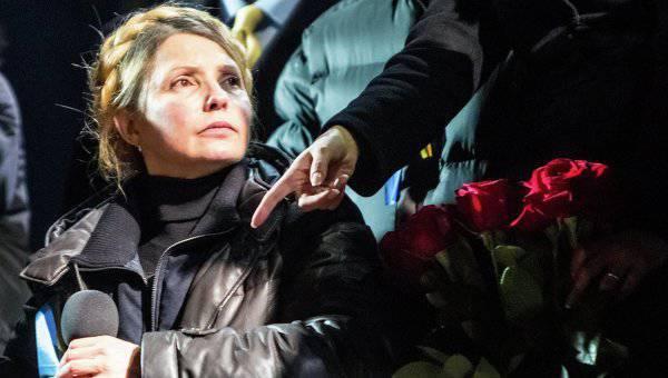 सेक्टर पर थूक मिला। यूलिया Tymoshenko यूक्रेन में राष्ट्रीय समाजवादी क्रांति को रोकने में सक्षम है?