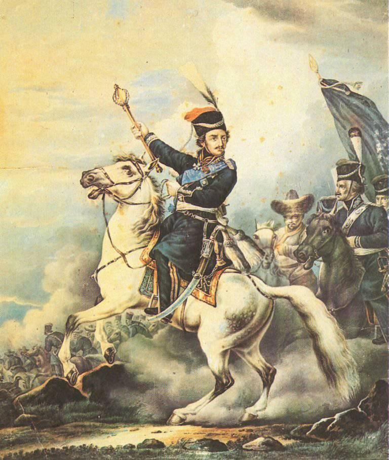 L'exploit du jeune Platov (Bataille de la Kalalah du 3 avril, 1774)