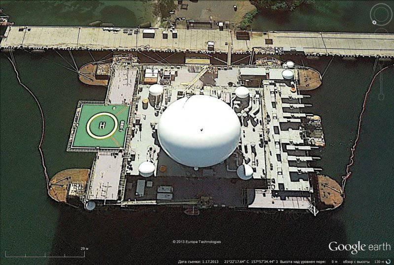 Американские стратегические ядерные силы и объекты ПРО на спутниковых снимках Google Earth
