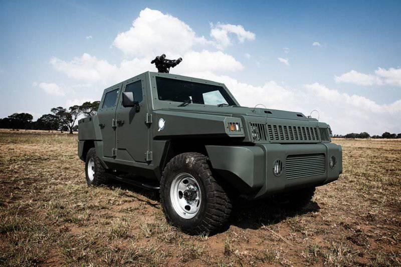 Патрульный вариант присоединяется к семейству боевых колесных машин компании Paramount