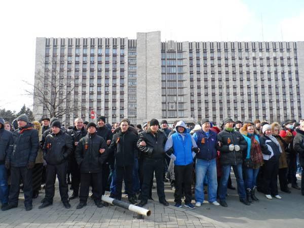 Donbas militiamen, Donetsk Kent Konseyi'ne ültimatom verdi