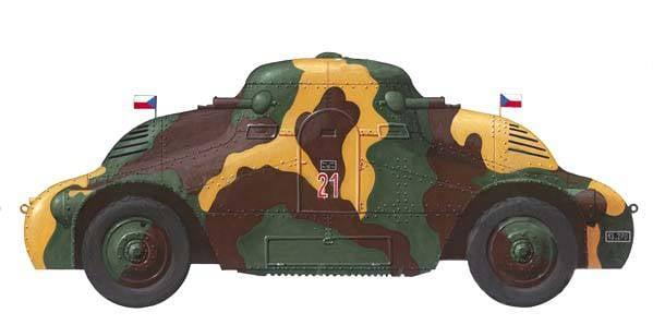 Tschechoslowakische Panzerfahrzeuge der Zwischenkriegszeit. Teil II