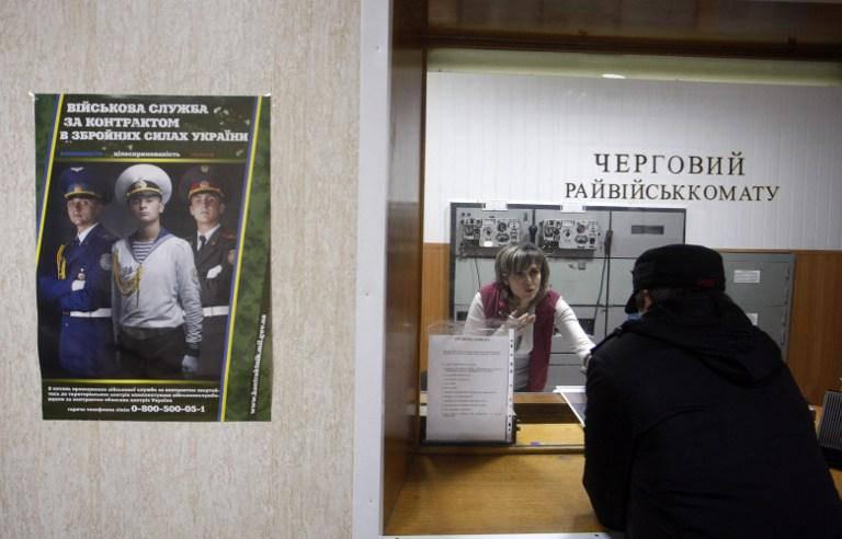 Genel seferberliğin açıklanmasının ardından Ukrayna'nın askeri kayıt ve askerlik bürolarındaki katılım son derece düşüktü
