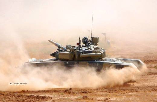The Algerian military is delighted with their T-90CA