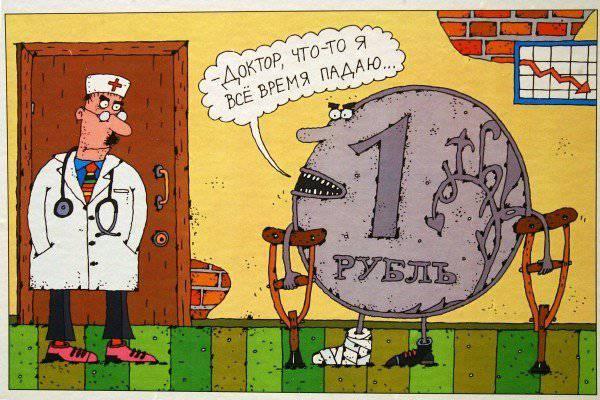 Sulla ripida cima del rublo russo alla luce degli eventi recenti