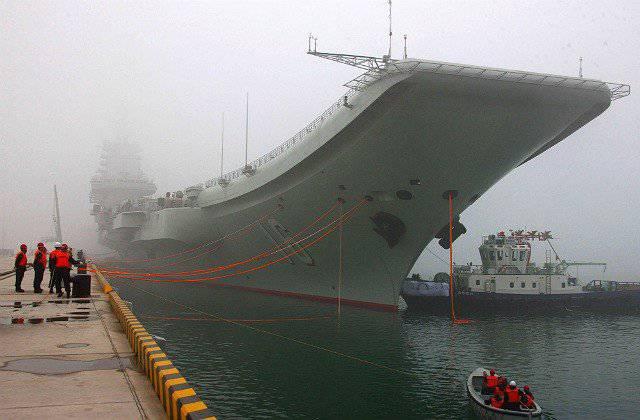 Chinesische Marine: von der Mücke zum Ozean