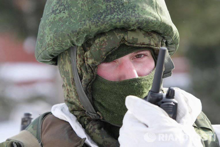 Inspecção repentina de tropas de ZVO e TsVO, frotas do Norte e do Báltico