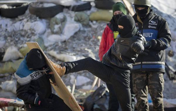 European neo-Nazis flock to Kiev
