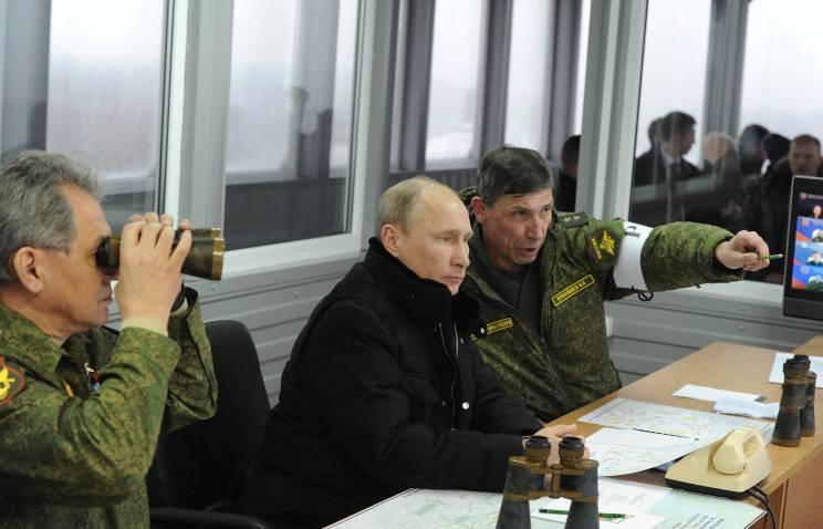 Putin befahl den an den Übungen beteiligten Truppen, zu den Einsatzorten zurückzukehren