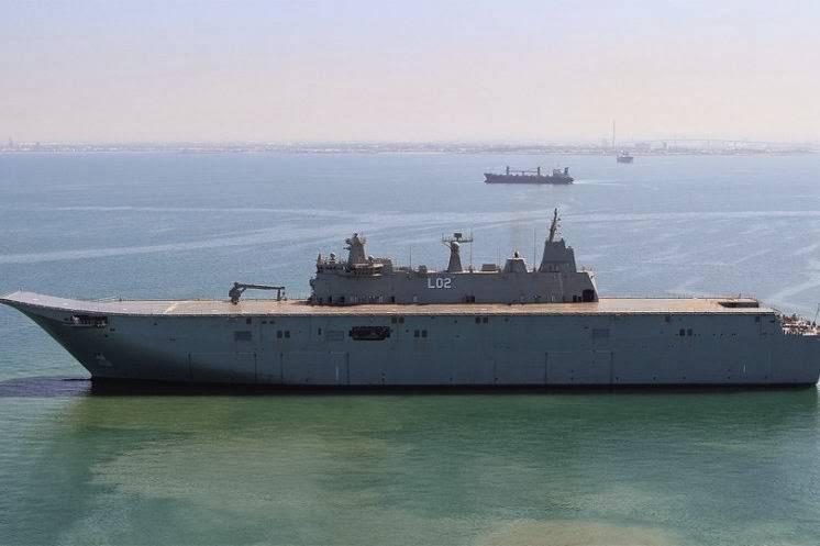 Canberra andò al mare