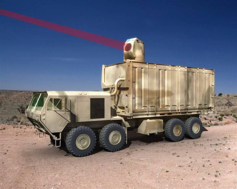 洛克希德马丁公司将生产60千瓦激光器