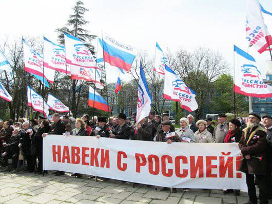 A milestone in history: the reunification of the Russian world. Crimea (Poll)