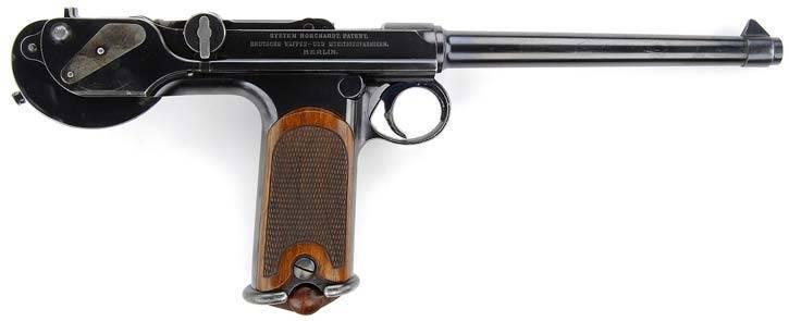 Pistola Borchard K-93